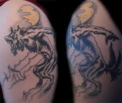 werewolf tattoo by paskaniska on deviantart