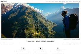 hiking and camping wordpress themes for trips and adventures