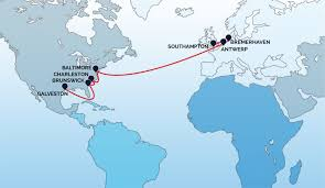 Route Maps by Route Maps American Roll On Roll Off Carrier