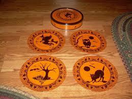 Vintage Halloween Plates by Dinnerware U0026 Serving Dishes Kitchen Dining U0026 Bar Home U0026 Garden