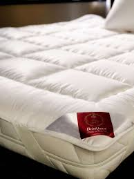 brinkhaus twin topper goose down feather mattress topper mattress toppers at house of fraser