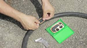 comment changer chambre à air vélo crevaison comment réparer une chambre à air de vélo auto moto