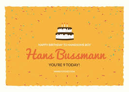 birthday card maker design printable birthday cards fotojet