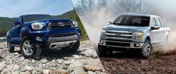 toyota tacoma vs tundra 2015 toyota tacoma vs 2015 ford f 150
