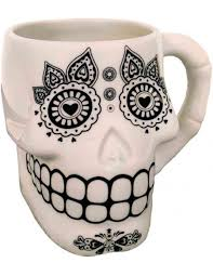 sugar skull mug streamline unique mugs home gifts sugar