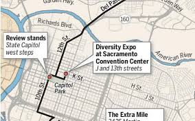 Sac State Map Martin Luther King Jr March Route In Sacramento The Sacramento Bee