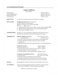 Sample Payroll Resume by Payroll Accounting Resume Samples