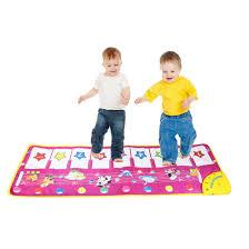 Baby Carpet Amazon Com Baby Genius Step To Dance Junior Piano Mat Yifan Kids