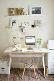 Small Desk White Office Guest Room Inspiration Instagram Wall Ikea Desk And Desks