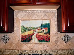 mural tiles for kitchen backsplash backsplash ideas