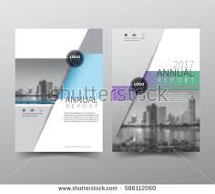 cover layout com annual report cover flyer presentation brochure stock vector hd