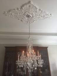 Small Ceiling Chandeliers Ceiling Using Ceiling Medallion For Fascinating Home Decoration