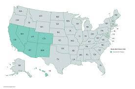 Western Us Map My Blog Western States Wall Map Mapscom Map Usa Houston Airport Map Southwest