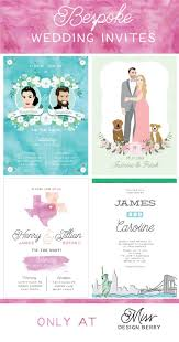 best 25 bespoke wedding invitations ideas on pinterest wedding