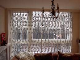 Patio Door Security Shutters Rsg1000 Retractable Patio Door Security Grilles Fitted To The