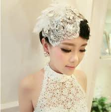 bridal headwear fascinators hair accessories flower hat lace feather