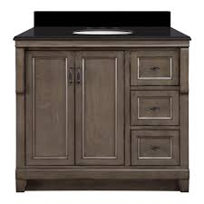 Foremost 60 Inch Vanity Foremost Naples 37 In W X 22 In D Vanity In Distressed Grey With