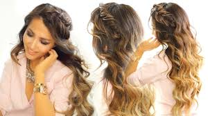 cool easy braids for medium hair 2 cute headband braid hairstyles