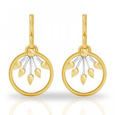 gold earrings with price alpana ora gold earring jacknjewel