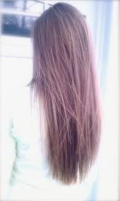 Frisuren Lange Haare Glatt Stufig by V Schnitt Für Lange Haare