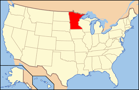 Map Of United State Of America by United States District Court For The District Of Minnesota Wikipedia