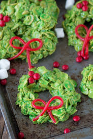 christmas wreath christmas wreath cookies the first year