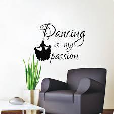 Dance Wall Murals Dance Home Decor Zoomwall Art Dancing Dance Home Decor Vinyl