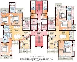 Floor Plan La by Parsvnath Developer Floor Plan Parsvnath La Tropicana Civil