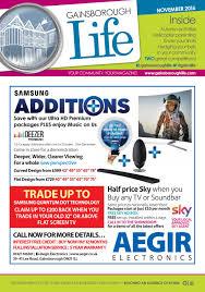 gainsborough life magazine november 2016 by life publications issuu