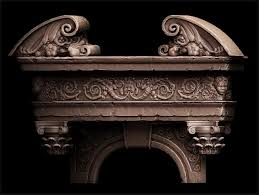 ornate door frame polycount