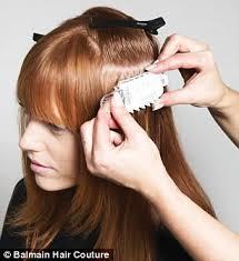balmain hair balmain debuts couture hair extension tool système volume daily