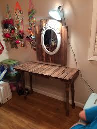 Diy Vanity Desk Diy Makeup Vanity Table With Lights Www Napma Net