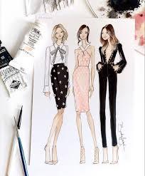 423 best dress design sketches images on pinterest fashion