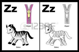 kids alphabet coloring book outlined clip arts color