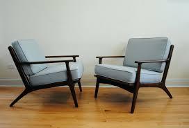 mid century modern swivel club chair mid century modern teak