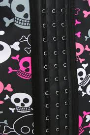 halloween corsets cheap 9 steels crazy skulls print waist training cincher halloween