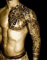 polynesian tattoos tribal sleeve tattoos tribal sleeve and