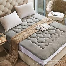 online shop foldable plush mattress thick coral velvet tatami