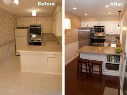 Small Kitchen Makeovers - kitchen astonishing kitchen remodel before and after small