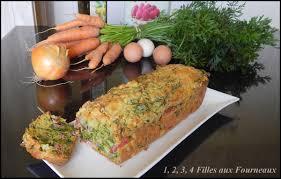 cuisiner les fanes de carottes cake aux fanes de carottes et au bacon 1 2 3 4 filles aux fourneaux