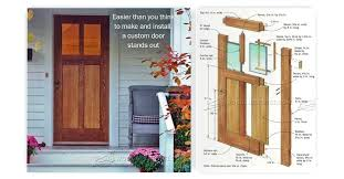 How To Build A Exterior Door How To Build An Exterior Door Diy Exterior Door Frame Repair