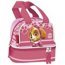 pink paw patrol lunch bag girls clicalia