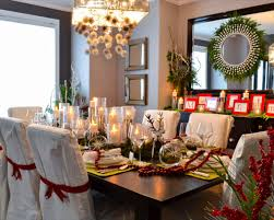 Cool Home Interiors Dining Room Dining Room Table Christmas Decorations Home Style