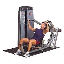 Body Solid Preacher Curl Bench Body Solid Dprs Sf Pro Dual Multi Press Machine