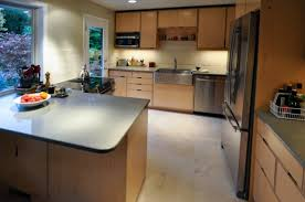 Plywood Cabinets Kitchen Dh Kitchen By Kerf Design Maple Veneer Plywood Cabinets Kerf