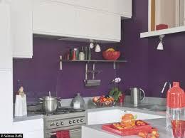 deco cuisine mur cuisine mur violet la maison murs violets