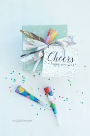 new years party box new years party in a box gift idea