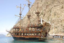 pirate ship tour oludeniz intersky travel excursions