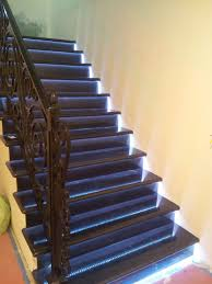 led strip lights for stairs led strip installations traditional staircase los angeles by