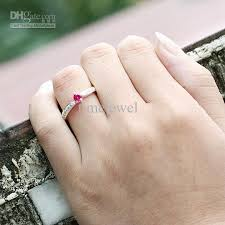 small ruby rings images 2018 lady silver ring sz 7 wed j7741 small round red ruby wedding jpg